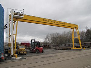 Large Crane Manufacturer to Bespoke Spec